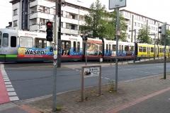 54 - Hinweisschild Eulenkamp/Podbi.