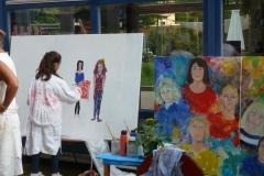 Acrylmalerei zum Ausprobieren